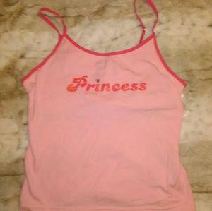 2 PC Princess Sleepwear Set, Size Med, NWT